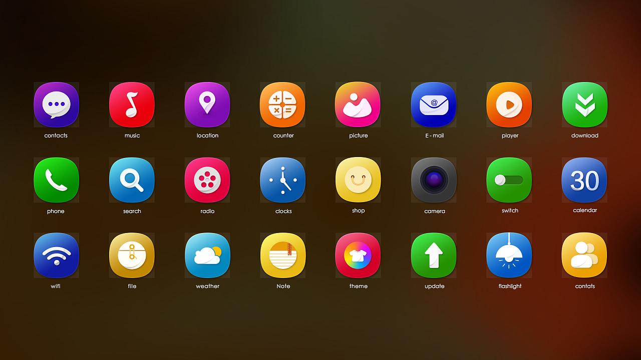 icon 圖標 手機
