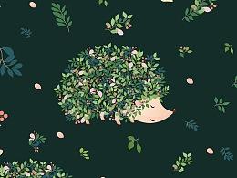 【图案设计-八】礼物礼品包装纸图案设计 T宝-wowlove