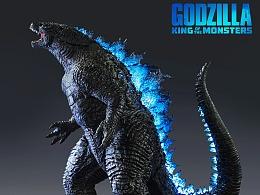 Mtime時光網 《哥斯拉2:怪獸之王》哥斯拉 收藏雕像