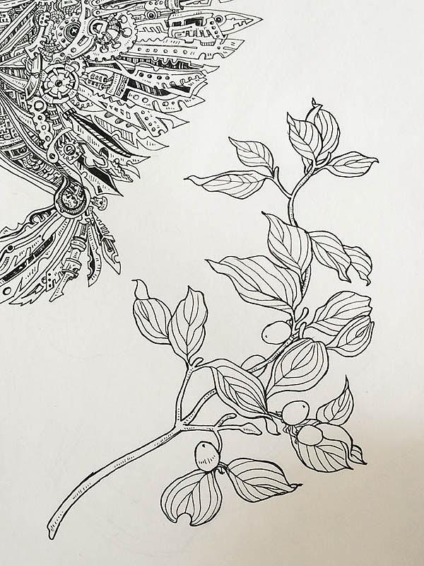 简笔画 手绘 线稿 600_800 竖版 竖屏图片