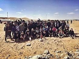 沙漠里的涂鸦之旅,阿拉善英雄会。