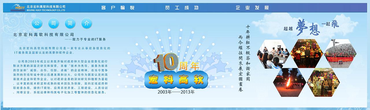 十年庆宣传板,光荣榜,摄影展