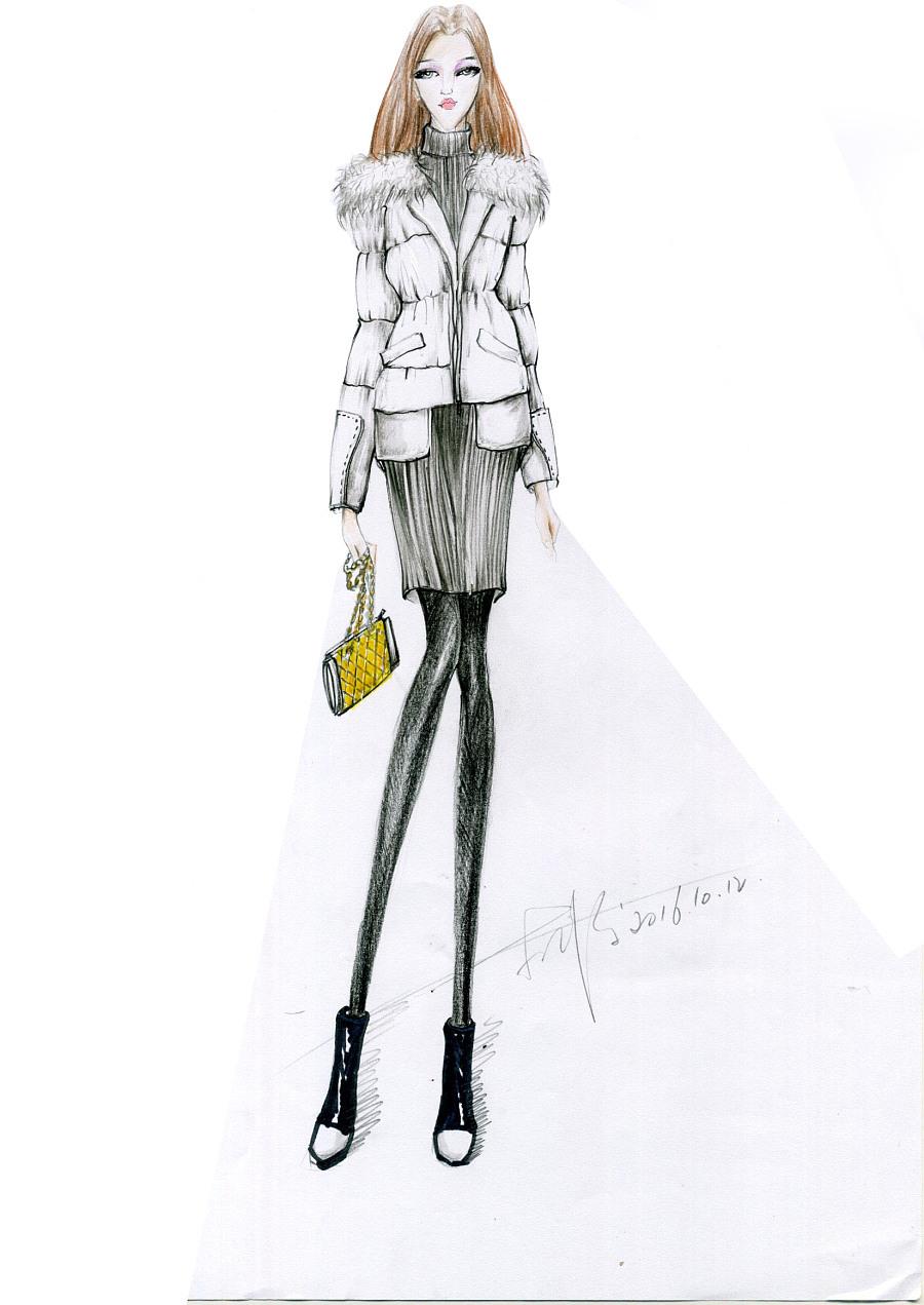 原创手绘作品|休闲/流行服饰|服装|我的西装传奇