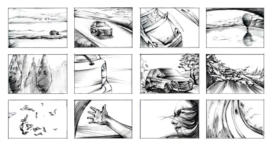 几组故事脚本|绘画习作|插画|cheng诚 - 原创设计