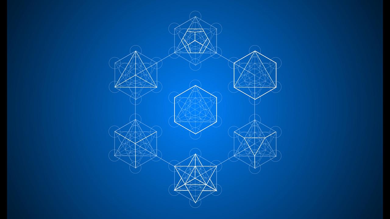 科技风格产品 六边形