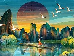 【绘画】旅行路上·所到之处皆是绘画灵感来源