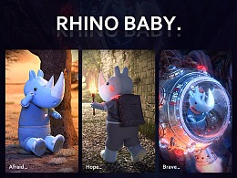 RHINOBABY-犀牛宝宝 IP设计
