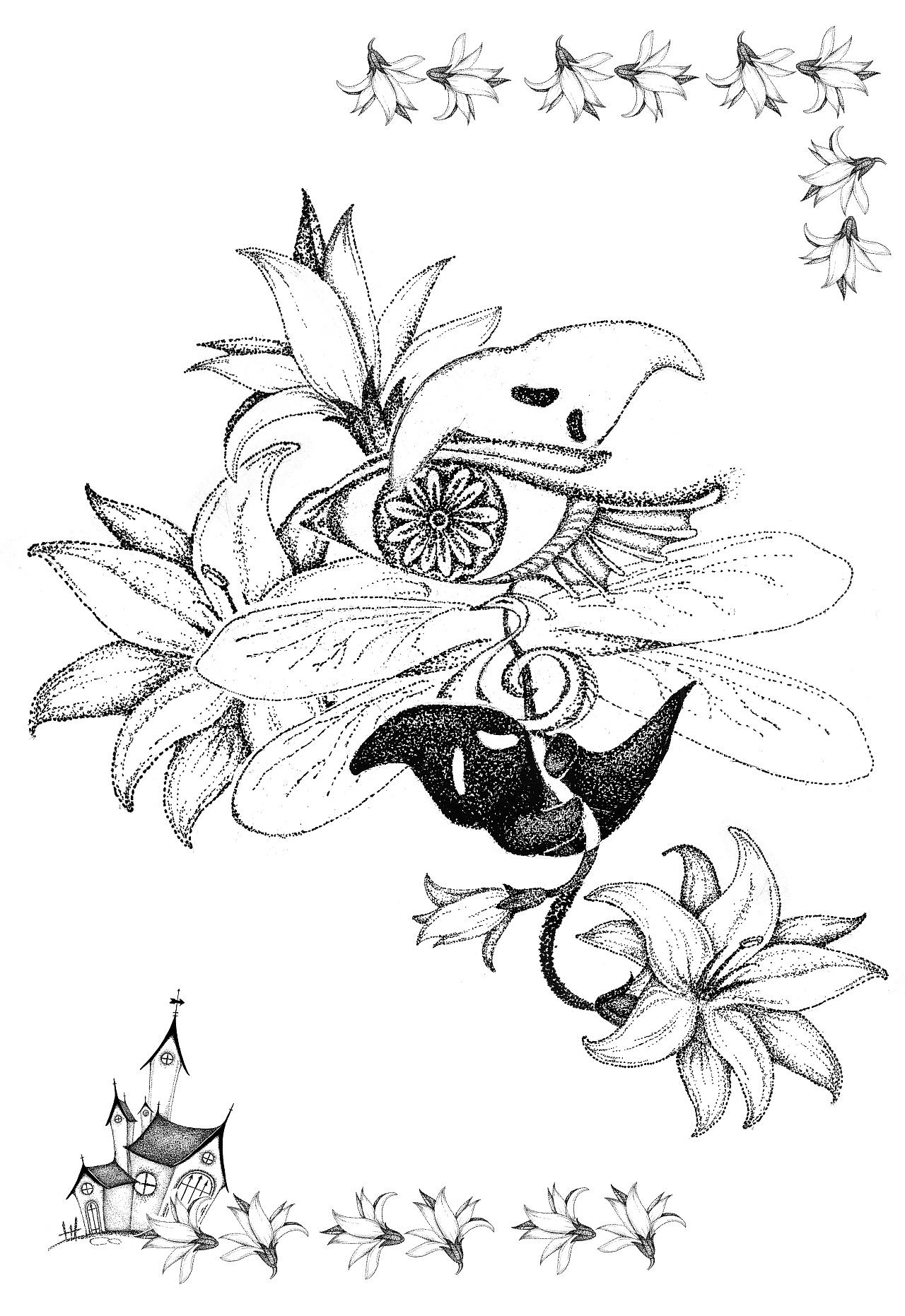 手绘插画| 黑白点阵|插画|涂鸦/潮流|griffin_x
