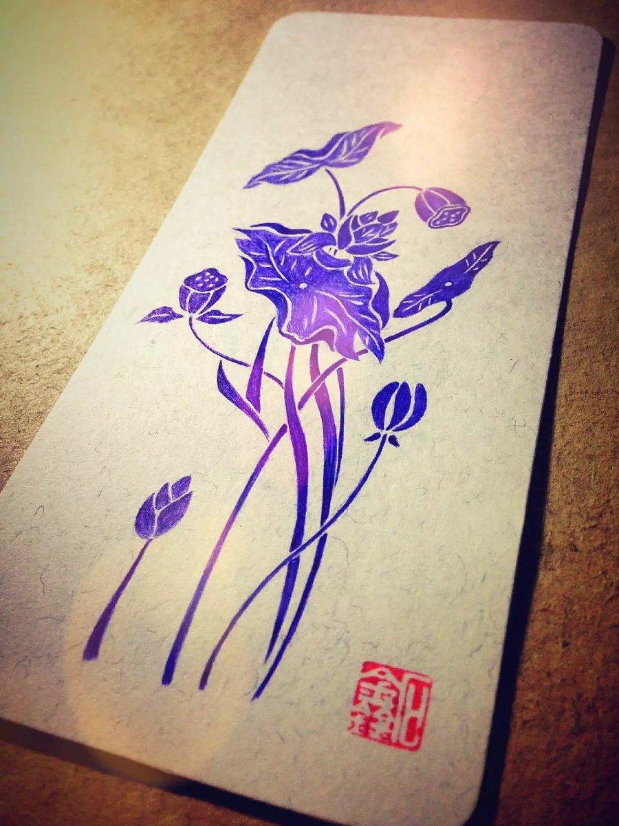手绘明信片|插画习作|插画|shxin - 原创设计作品
