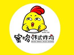 蜜哆韩式炸鸡LOGO设计
