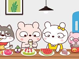 冷兔宝宝家庭篇 —— 网络表情