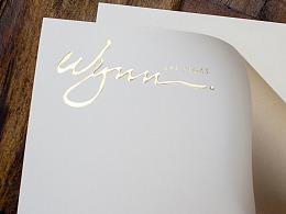 Wynn Las Vegas Stationery