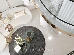27平米美容工作室 设计表现   cr4.0