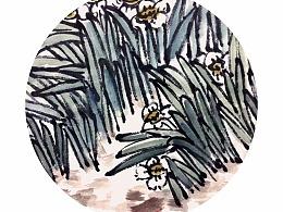 牡丹水仙图