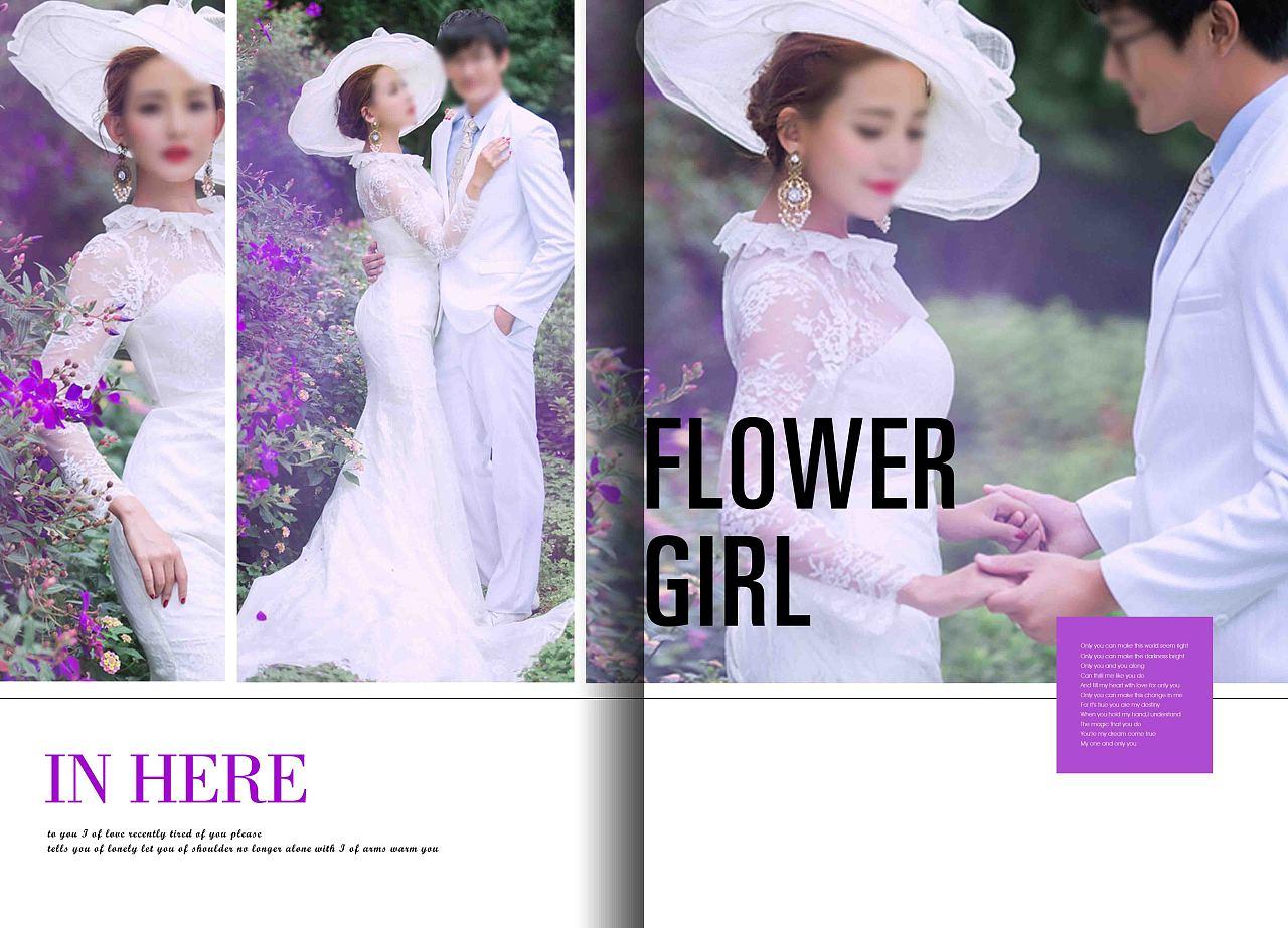 婚纱照 婚纱照相册 相册模板 相册排版 相册设计 婚纱图片