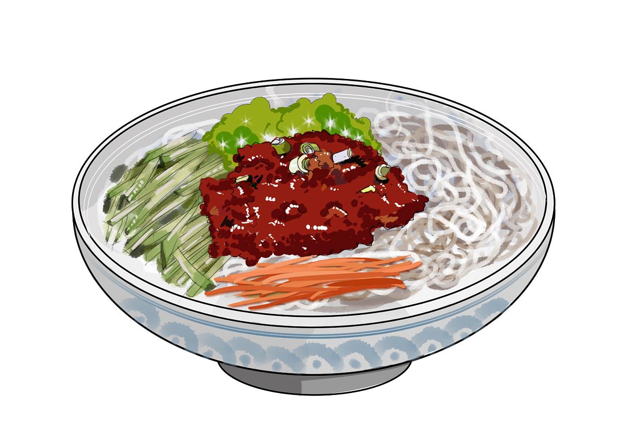 手绘北京吃货地图系列