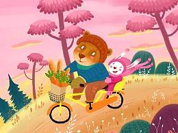大熊和小兔子