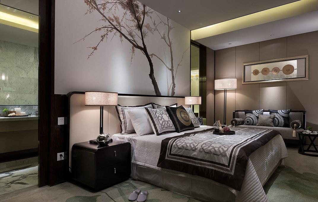 新中式风格,世纪城装修公司,金阳家装公司,室内家装效果图!