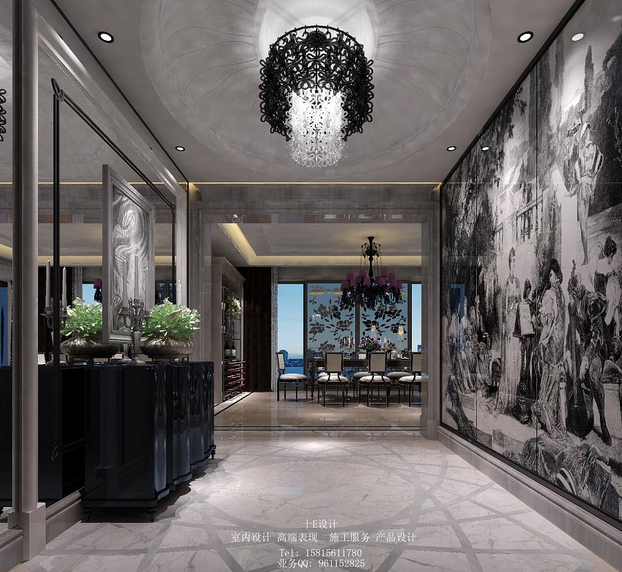 海珠半岛花园三期b01样板房|室内设计|空间/建筑