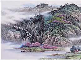 张月岗国画山水系列最新作品