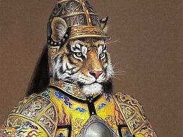 国潮帝王将相12生肖