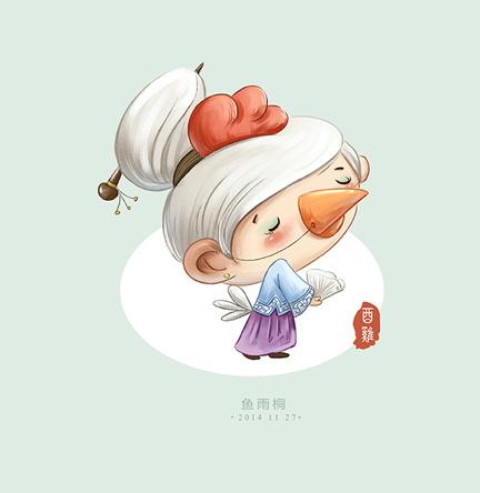 猴年生肖画儿童版_2014年版十二生肖|插画|儿童插画|鱼雨桐 - 原创作品 - 站酷 (ZCOOL)