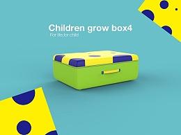 儿童成长记忆箱-简要的产品外观设计 2