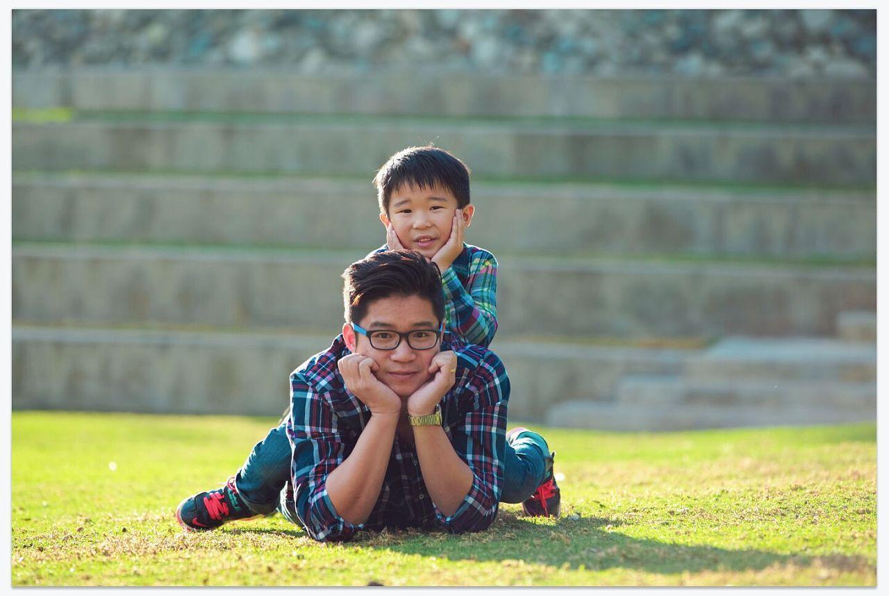 家庭亲子照 摄影 摄影 两个号