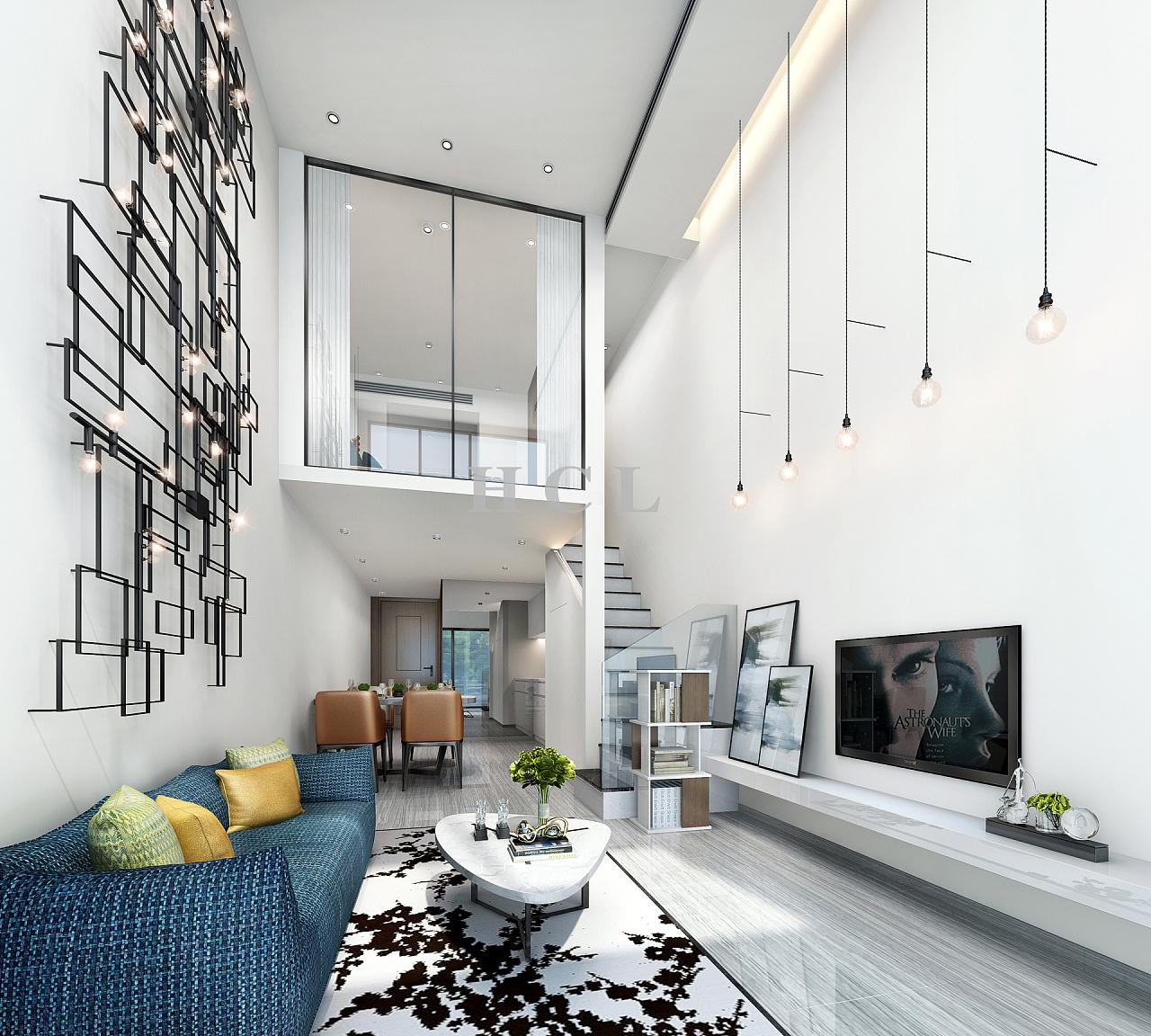 hcl·枫叶公寓设计——让极简融于生活,让细节彰显品位图片