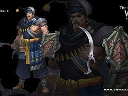 《长城》  项目角色设计   版权属于深圳墨麟科技