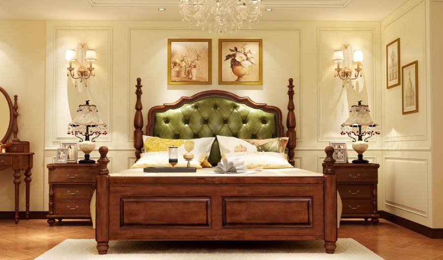 美式乡村风格家具设计,家具3d效果图制作  家具图片