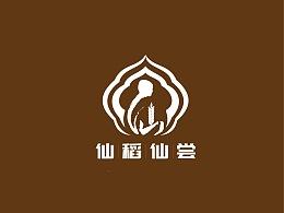 仙稻仙尝logo设计
