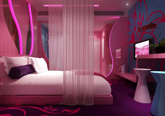 重庆情侣主题酒店装修设计|室内设计|空间/建筑|重庆