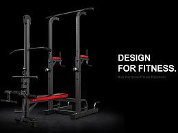 产品渲染|EunSung健身器材