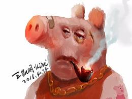 小猪佩奇·社会哥