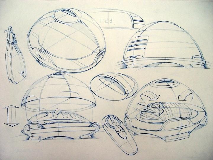 产品手绘|工业/产品|生活用品|刘雅琴yannis - 原创