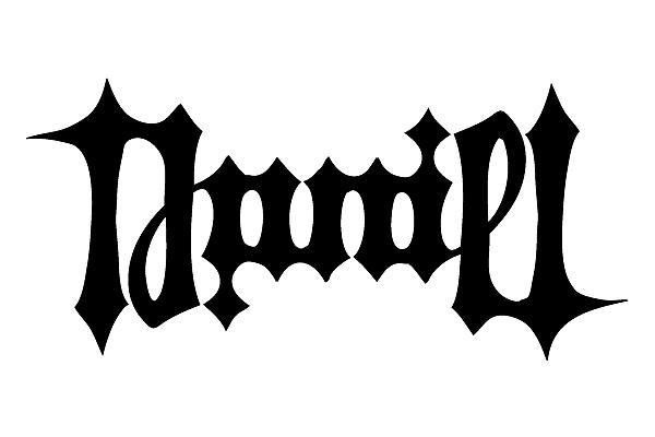 对称字daniel|平面|字体/字形|danielde - 原创作品图片
