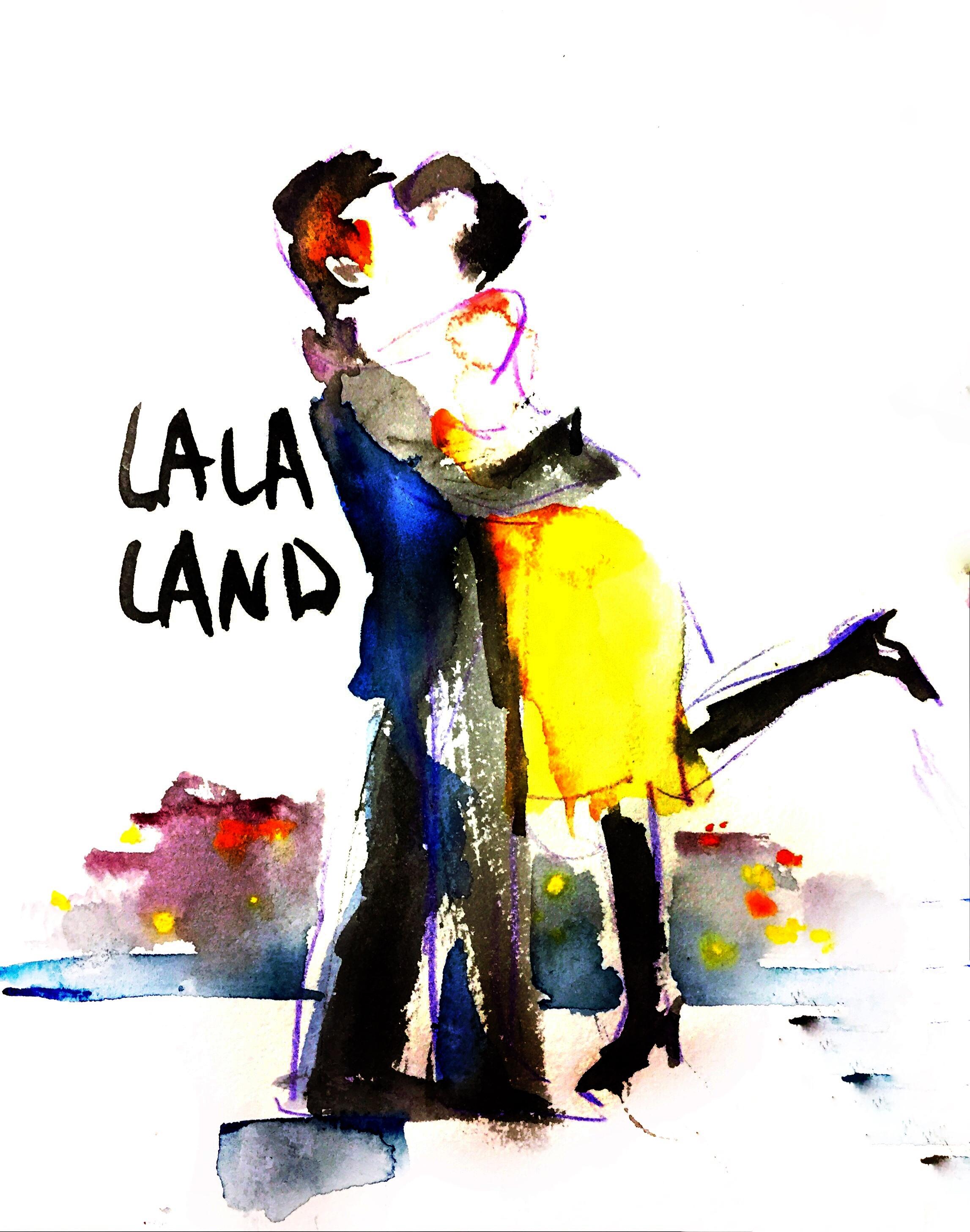 lala land 四重奏谱子