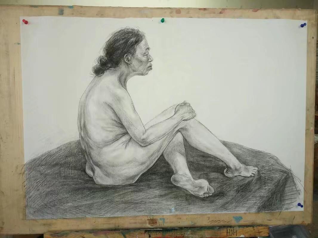 258大胆的人术体艺术_素描人体|纯艺术|素描|三苏258 - 原创作品 - 站酷