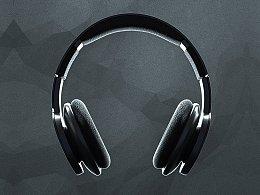 C4D建模渲染练习/头戴式耳机
