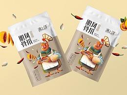 鸡爪包装-虾包装