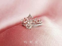 梵尼洛芙珠宝 | 皇冠系列求婚钻戒设计