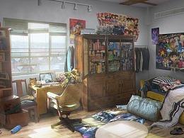 现代室内场景——陈博(过程图)
