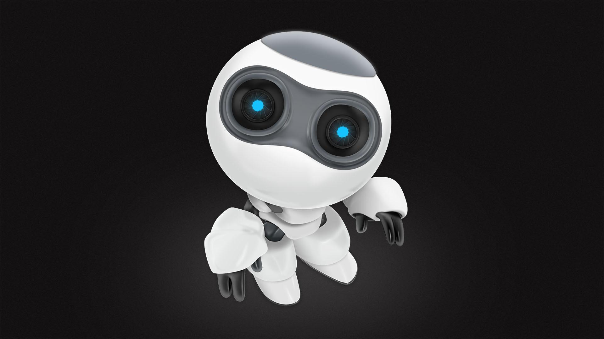 小小机器人图片