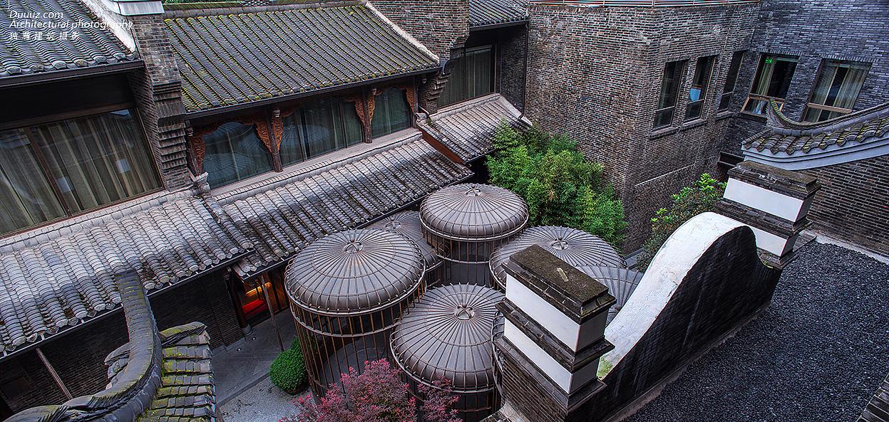 独尊建筑摄影:成都钓鱼台精品酒店
