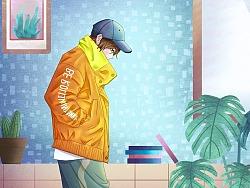 人物插画15day,尝试新的风格 by 沐橙子666