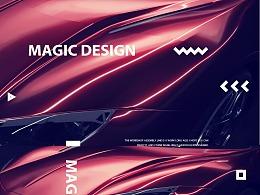 2018年MAGIC C4D作品集合