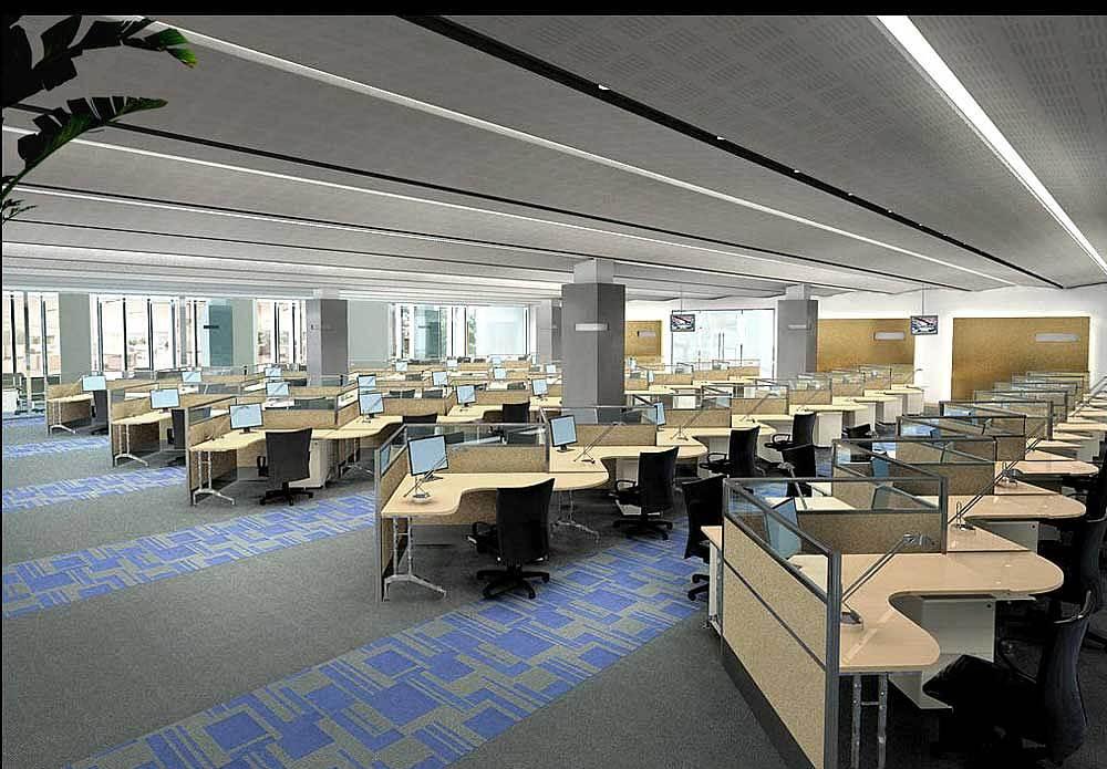 郑州办公室设计方案图片