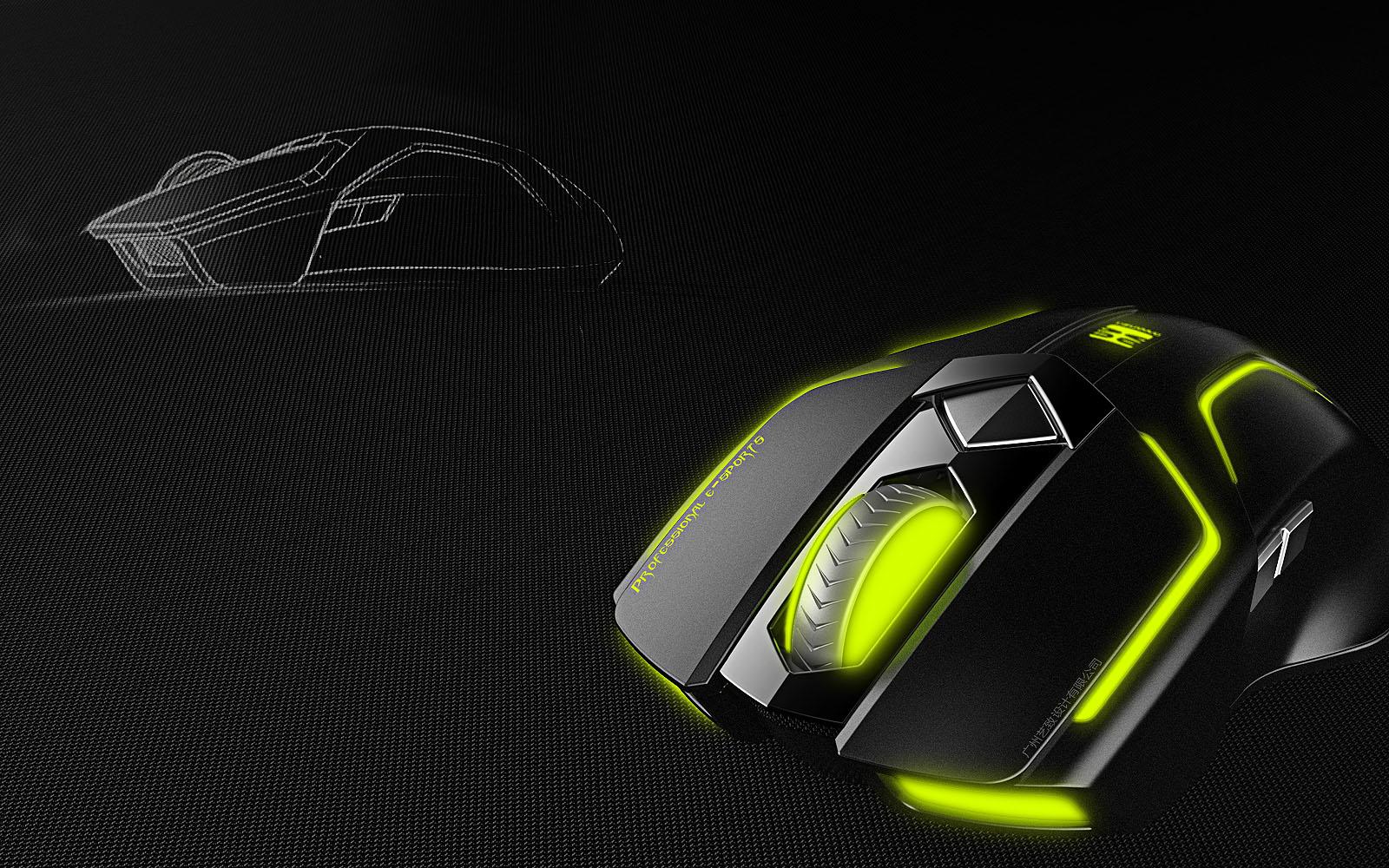 游戏鼠标|工业/产品|电子产品|广州艺致产品设计
