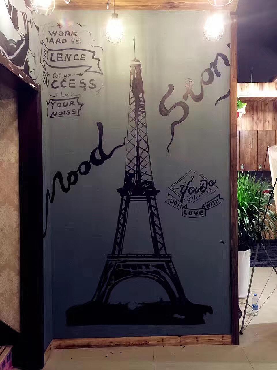 常州理发店墙体彩绘  其他 墙绘/立体画 crazyriot
